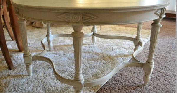 Shabby Chic Coffee Table From Aurora Patina Shabby Chic Coffee