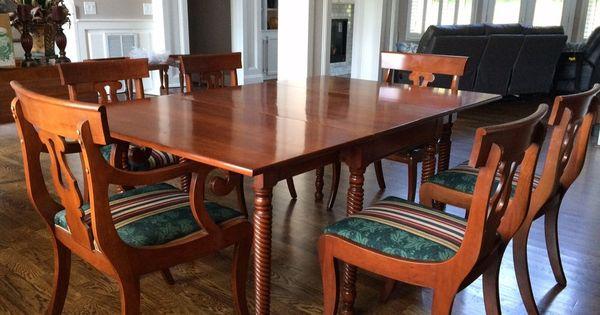 Willett Dining Table6 ChairsChina HutchSecretary2 End  : cff6c07f1f1b840b937c55f5a34c8bcc from www.pinterest.com size 600 x 315 jpeg 41kB