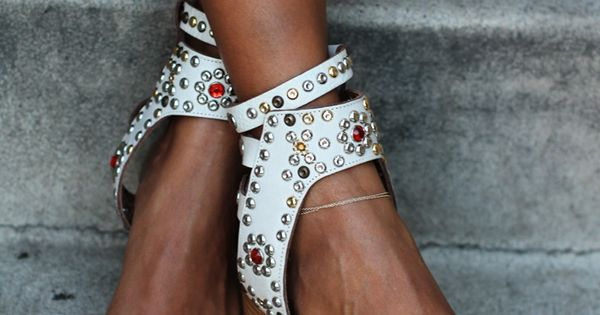 Wedge shoes - photo