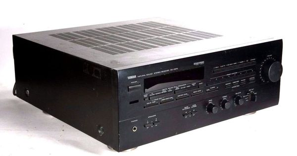 Yamaha rx v870 natural sound stereo receiver processor av for Yamaha home theater amplifier