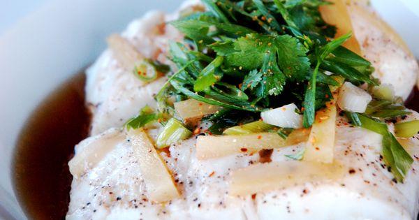Prosciutto-Wrapped Halibut With Summer Squash Recipe — Dishmaps