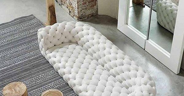 weißes gestepptes ledersofa von baxter | furniture | pinterest, Wohnzimmer dekoo