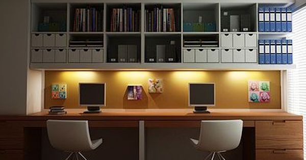 Find This Pin And More On Study Spaces Office Design Modern Home