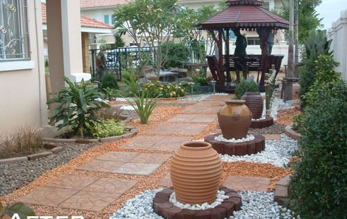 No grass landscaping is definitely an idea of my florida - No grass backyard ideas ...