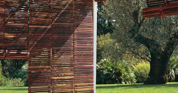 Mejores ideas sobre persianas quinchos y bamb en pinterest sol patio y buenas ideas - Persianas bambu exterior ...