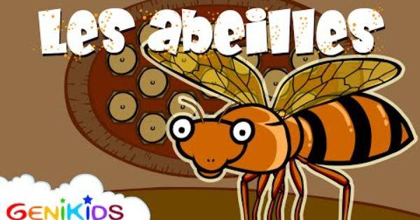Le secret des abeilles dessin anim ducatif genikids - Garfield et cie youtube ...