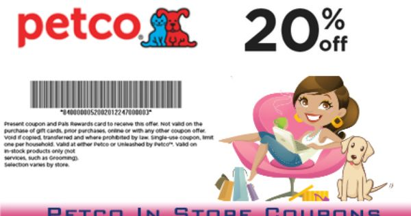 By Using Petco In Store Coupons You Can Use Coupon Local Petco Store And These Coupons Are Available Here Only Or Through Speci Petco Store Coupons Dog Lovers