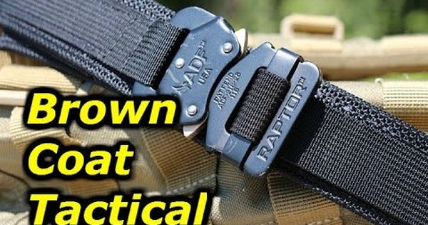 Brown Coat Tactical's EDC Belt: Exceptional Quality | Gear ...