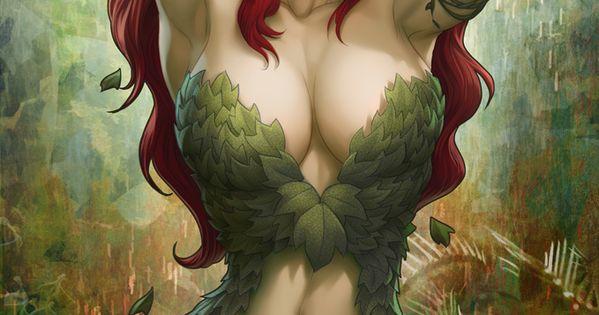 Poison Ivy Sideshow Art by `Artgerm on deviantART