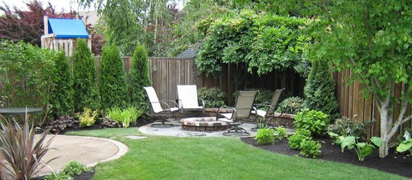Decoration In Corner Landscaping Ideas Corner Yard Home Ideas