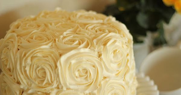 Swirled Rose Cake Tutorial