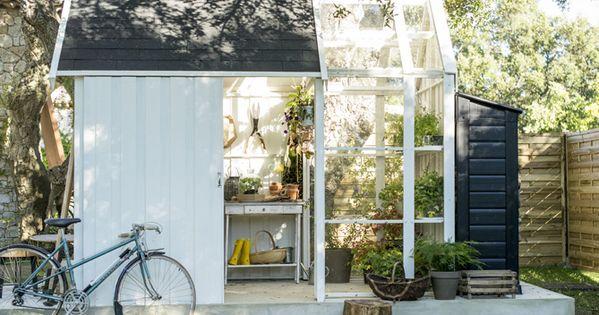 Cabane vitre jardin v lo gardens pinterest gardens for Agrandissement fenetre