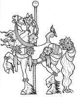 Desenho Para Colorir Cavalo Do Carrossel Desenhos Para Colorir