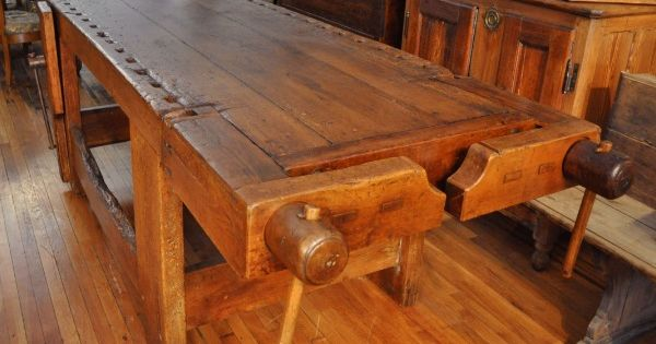 Woodworkers Workbenches For Sale Large Woodworker 39 S Bench Mercato Antiques Direct