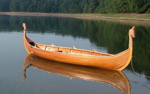 DoryMan: Viking Boat | Handmade wooden boats | Pinterest | Boats ...