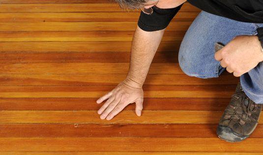 how to fix curled hardwood floors