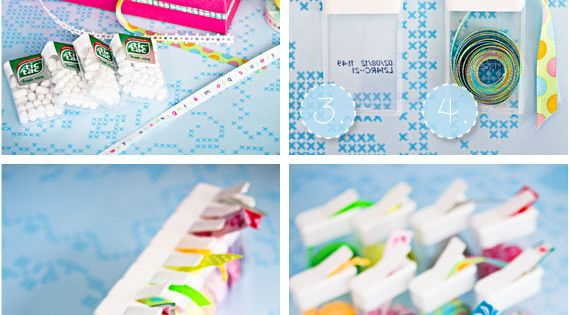 TicTac loose ribbon holder :D great idea!