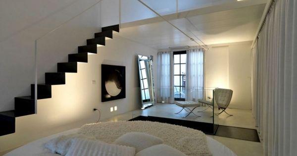 loft wohnung design twin lofts dekor akzente wohnen wohnzimmer bcherregale pinterest zwilling loft und design - Wohnung Design