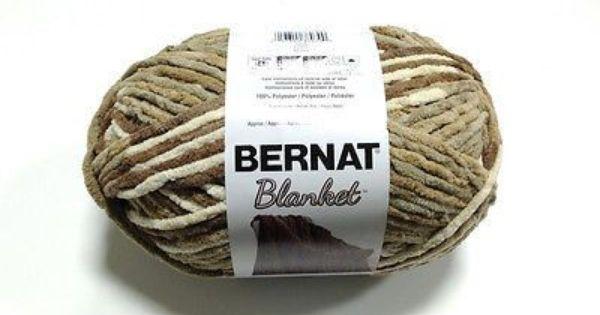Bernat Blanket Yarn Home Decor Colors Sonoma Blanket