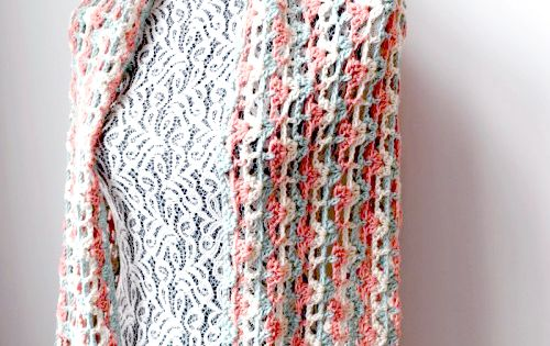 Crochet Scarf Patterns Medium Weight Yarn : Wrap yourself in a soft and gentle hug while you gently ...
