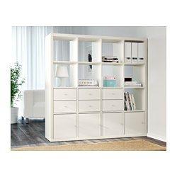 Kallax Shelf Unit White 57 7 8x57 7 8 Kallax Shelving Unit