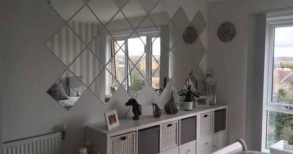 Grey Bedroom IKEA Kallax LOTS Mirrors Ideas For The House Pinterest Ikea Kallax