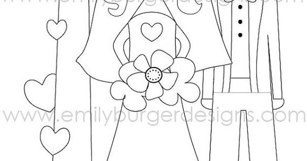 Personalized name....kids wedding coloring page. Print ...