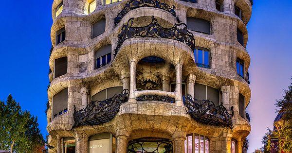 La pedrera de antoni gaud barcelona pa s vasco - Arquitectura pais vasco ...