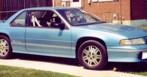 I Had One Of These 1993 Maui Blue Lumina Z34 Chevrolet Lumina