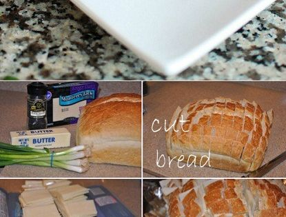 Bloomin' Onion Gooey Cheese Bread. - a great appetizer recipe for a