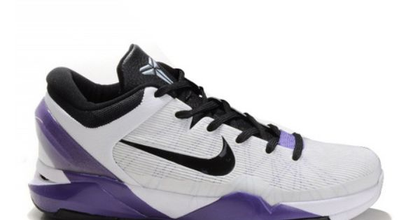 Nike Zoom Kobe 7 White Purple Black,Style code:488244-015,The