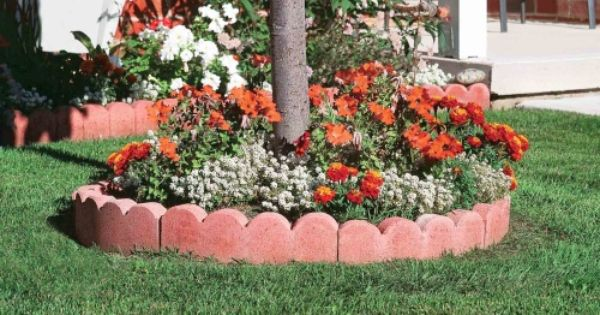 Scalloped Curved Garden Edging Garden Edging Landscaping With Rocks Lawn Edging