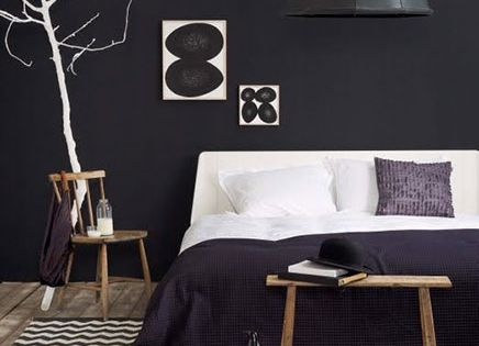 ... en voorbeelden! - Wonen  Pinterest - Slaapkamers, Zwart en Bedden