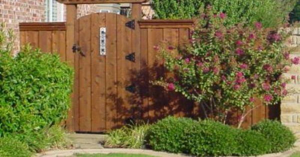 Wood Fence Gate Plans