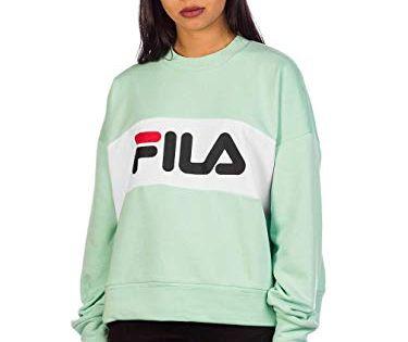 Fila Damen Pullover Leah grün M | Pullover, Graphic
