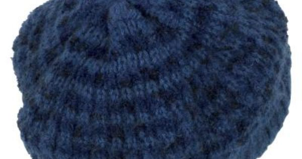 Easy Knit Hat Pattern Circular Needles : How to Make an Easy Knit Beret on Circular Needles