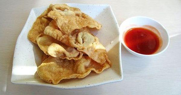 Fried And Crunchy Resep Pangsit Goreng Ala Bakmi Gm Resep Makanan Resep Makanan Bayi Makanan