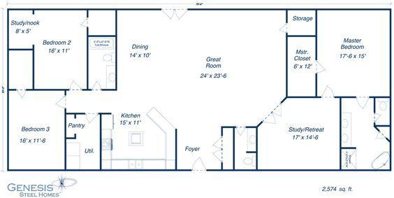 Barndominium Floor Plans Furthermore Genesis Steel Home Floor Plans Pole Barn House Plans Barndominium Floor Plans Barn House Plans