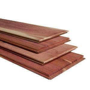 Vintage Timber 3 8 In X 4 Ft Random Width 3 In 5 In 10 59 Sq Ft Brown Grey Barnwood Planks Decorative W Cedar Planks Cedar Tongue And Groove Red Cedar