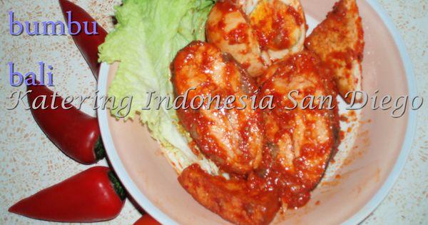 Bandeng Bumbu Bali Bali Red Spiced Milkfish Indonesianfood Indonesia Camilan