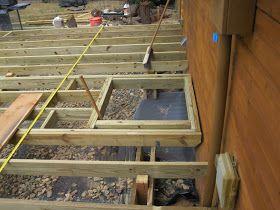 The Deck Continued Building A Deck Deck Building Plans Stair