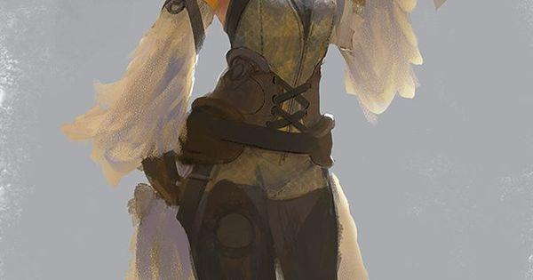 Yuck Character Design : Warrior maiden character design pinterest