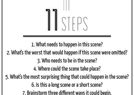 John august screenwriting advise or advice