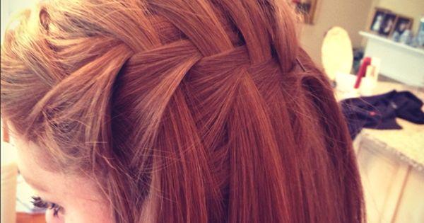 Easy & cute french fishtail braid