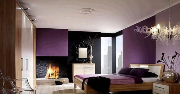 La chambre violette en 40 photos chambres violettes for Chambre violette