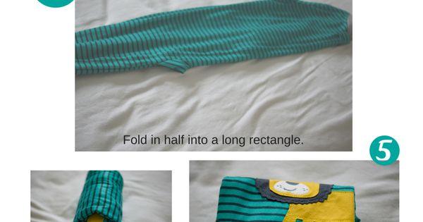 KonMari Method for Folding Baby Clothes esies Sweaters