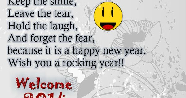 New Year Poems Happy New Year 2014 Wishes Quotes