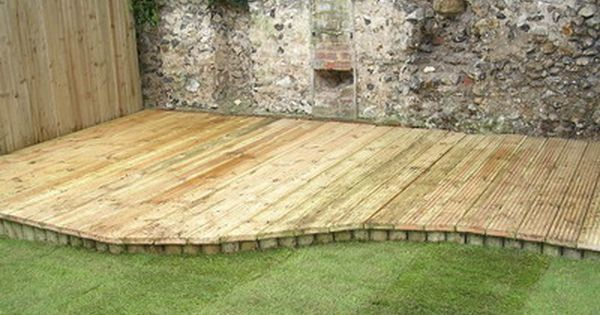 Low Decks Some Great Low Deck Designs To Enhance Your