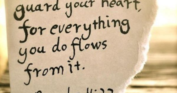 going to be the quote on my heart & key tattoo!