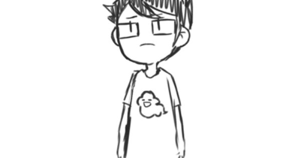 Only pinning,because this is actually John Egbert from Homestuck! :D